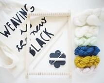 Beginner weaving Kit / / Julie Robert