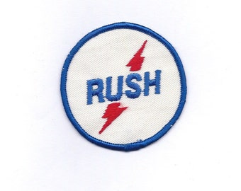 Vintage Rock Band Rush - Biker Patch