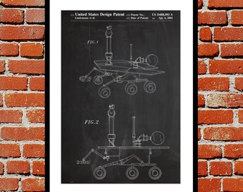 Mars Rover Patent, Mars Rover Poster, Mars Rover Print, Mars Rover Art, Mars Rover Decor, Mars Rover Blueprint, Mars Rover Design p204