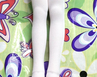 White long socks Stockings for 1/8 1/6 1/4 1/3 BJD dolls