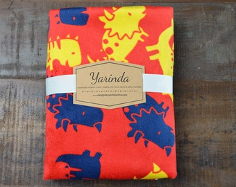 Minky Baby Blanket / Cuddle Minky Dinosaur / Baby Shower Gift - CUSTOM SIZES available