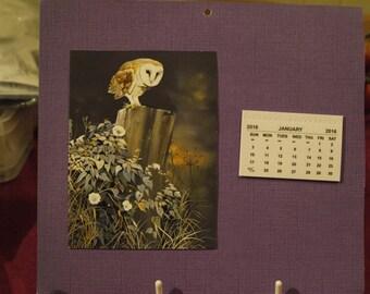 2016 Animal Calendar