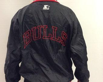 SALE Starter Bulls NBA Light Jacket Size M