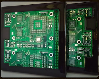 Circuit Board Coasters (Set of 2)