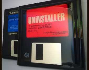 Diskette Coasters (Set of 2)