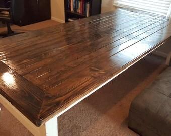 Farmhouse Dining Room Table - 100% Douglas Fir