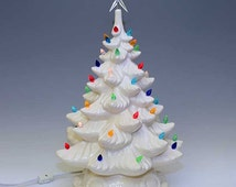 Unique Ceramic Tree Lights Related Items Etsy