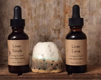 Liver Love & Liver Scrub Tincture