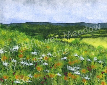 WILDFLOWER MEADOW - Giclee Print
