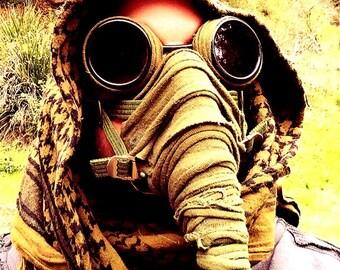 Fallout Style 'Ragman- Northmen' Mask Post Apocalyptic