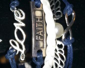 Friendship Charm Bracelet Infinity