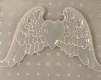Heart w/ Wings Mold
