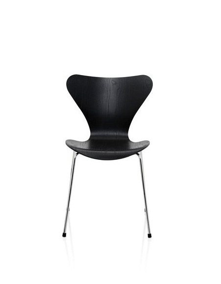 Chaises 3107 arne jacobsen 1955 haute juice for Chaise arne jacobsen