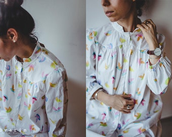 Birds pattern shirt