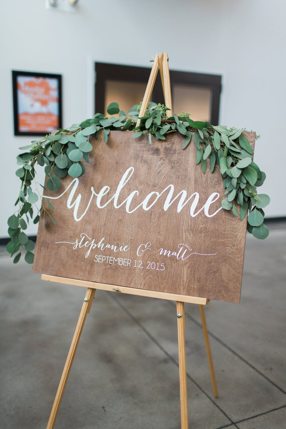 Wedding Welcome Sign Wedding Signs Wood Wedding Sign