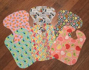 Baby Shower Set - Bibs and Burp Cloths