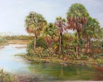 Florida's  Wetlands Giclee