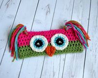 Animals Crochet Ear Warmer Baby/Kids/Adult Sizes