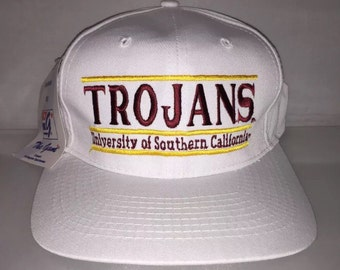 Vintage USC Trojans Southern California Snapback hat cap rare 90s NCAA College Football frat party