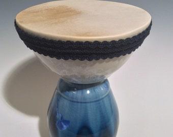 Crystalline Goatskin Drum