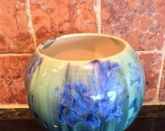 Crystalline Globe Vase