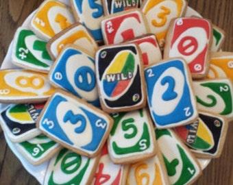UNO 12 cookies