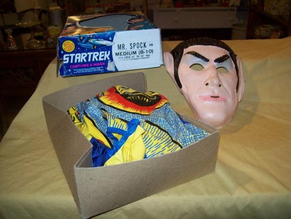 Startrek Mr. Spock Halloween Costume In box