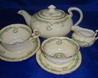 Antique Tea For One Tea Set
