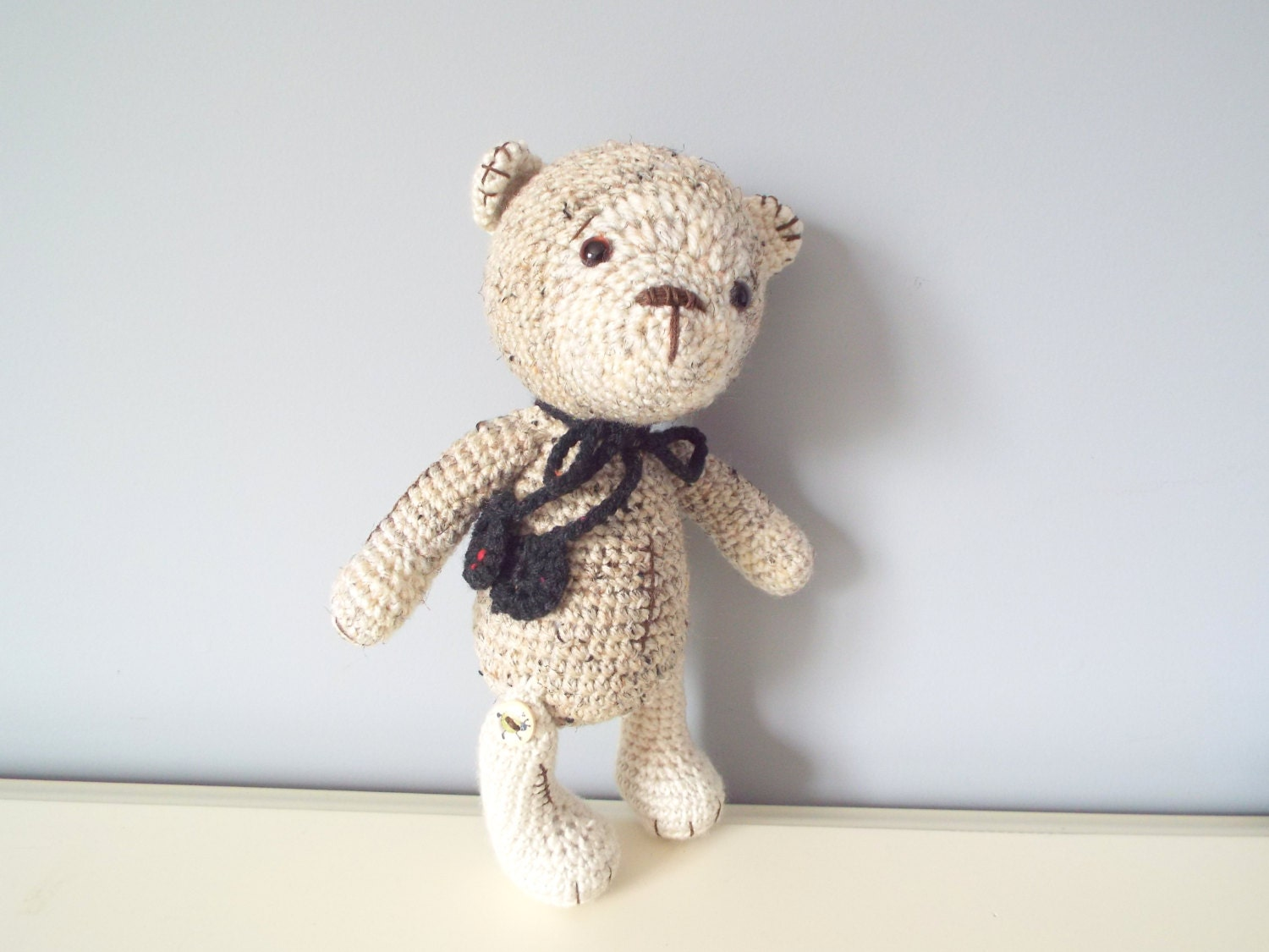 Amigurumi Baby Shower Bears : Handmade crochet Teddy bear Amigurumi doll Home decor Baby ...
