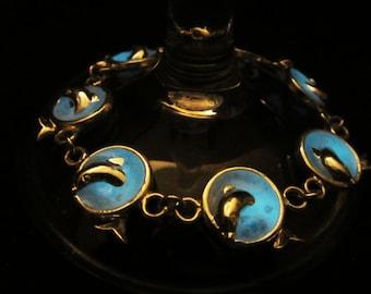 Dolphins  bracelet glow in the dark