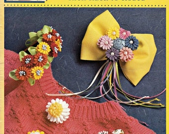 McCalls Creates Rick Rack To Roses, Fabric Craft Patterns, Decorative Fabric Patterns, Embellishments, Hand Sewing Patterns