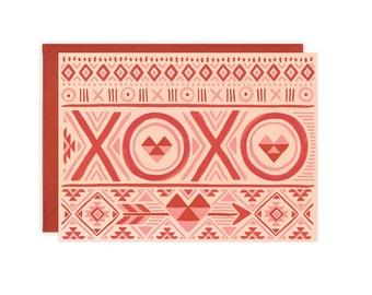 XOXO Navajo Card