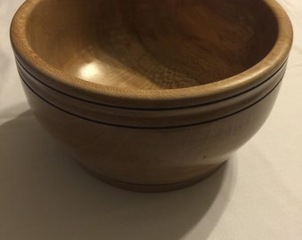 Sycamore hand turned bowl