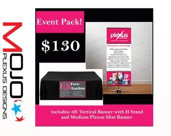 Plexus Event Pack! Includes 2 banners sku422/sku407