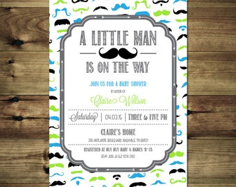 Little Man Mustache Baby Shower Invitation BabShow_inv_023
