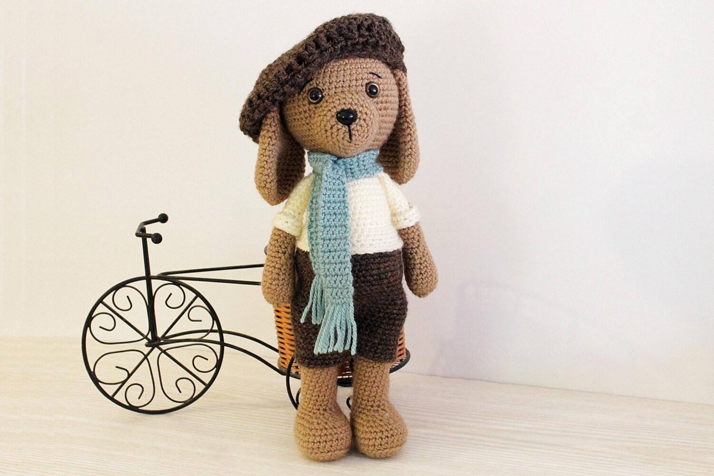 Amigurumi Dog Toy Patterns : Crochet PATTERN Dog Puppy Amigurumi dog pattern