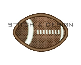 Mini Football Applique Design - Machine Embroidery Download