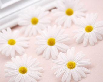 20 pcs 1.96'' Silk Chrysanthemum Life Like Flowers,Artificial Chrysanthemum heads  For Wedding Arrangement,Flower Supplies(153-72)