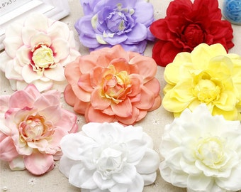 """10 Pcs Artificial Silk Flowers,4.72"""",Hair Accessories Flower Supply,For Wedding Pomander Kissing Ball Table Centerpieces(153-86)"""