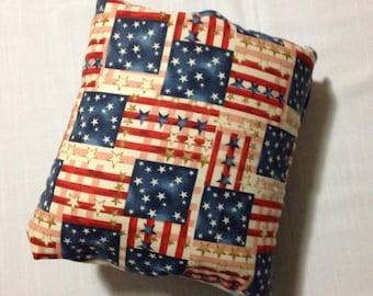 Americana Arm Pillow / Travel Pillow / Pillow Sleeve/ Nursing Arm Pillow / Breastfeeding or Bottle-feeding Support Pillow