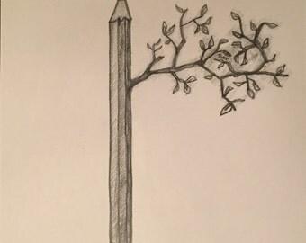 Alive Pencil Pencil Sketch