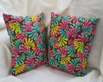 Multicolor Mini Throw Pillow