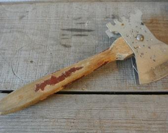 Vintage Kitchen Tool, Meat Tenderizer, Hatchet Tenderizer.