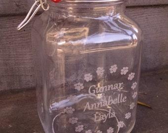 Custom Pet Treat Jars