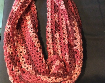 the michelle lacey infinity scarf multi light pink
