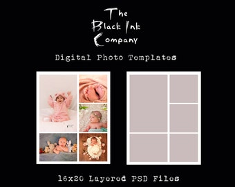 16 x 20 Collage Template #5