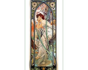 fabric panel - painting by Alphonse Mucha (37)