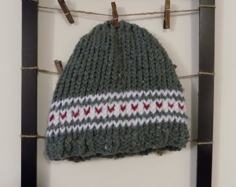 Pine Berry Knit Hat