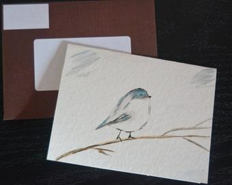 Original Watercolor Blank Greeting Card Set