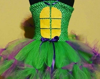 TMNT dress teenage mutant ninja turtle dress